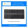 Custom solar panel 8V 1.9W polycrystalline