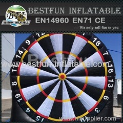 Inflatable Dartboard shooting games 5m high