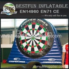 Double Inflatable Dart Target Boards
