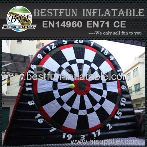 China inflatable football toss game goal