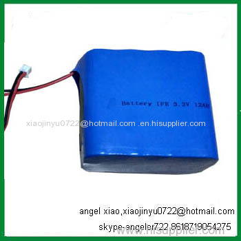 lifepo4 26650 12000mah lithium ion cell 3.2V