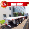 3 Axles Container Flat bed trailer flatbed truck trailer