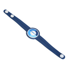Passive waterproof RFID silicone bracelet Wristband with 13.56mhz frequency