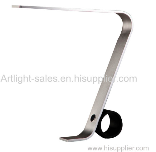 Simple model with Metal material LED table lamp for reading