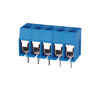 12A 300V bule color screw terminal block(pitch 5.0mm)