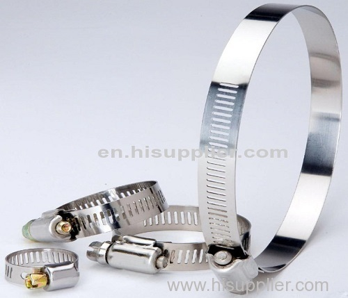 12 .7 MM BAND stainless steel hose clamp
