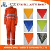 fire retardant 100 cotton coverall with reflector