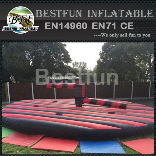 Adult Inflatable Wipeout Obstacle Course Game For Sale