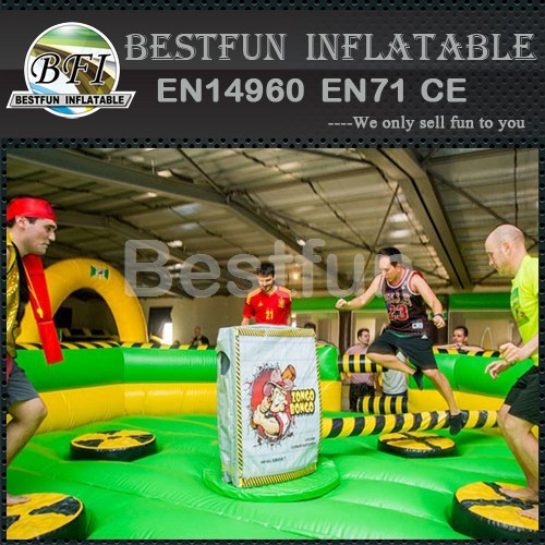 Inflatable Mechanical Meltdown Wipe Out Games