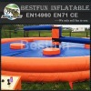 Round Shape Single Stick Inflatable Wipeout Sport Game