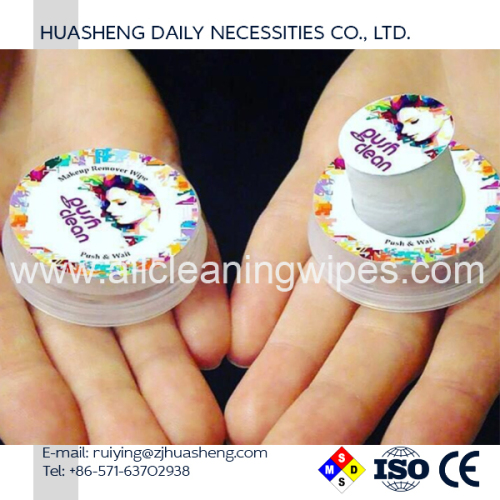 Biodegradable Disposable Push Clean Wet Wipes
