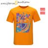 Custom made cotton fashion nationality t shirt
