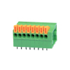 ROHS UL Spring-Clamp Connection Terminal Blocks 5A 24-20 AWG