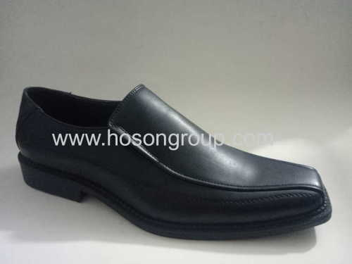 Plain toe clip on mens shoes