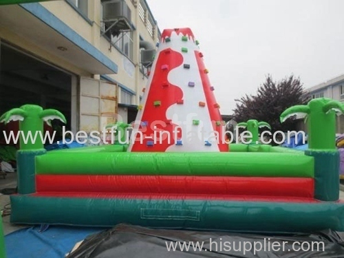 inflatable climbing wall for kids