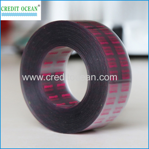 shoelace acetate cellulose film with design/letter printing