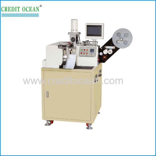 CREDIT OCEAN high speed ultrasonic label cut and fold machine