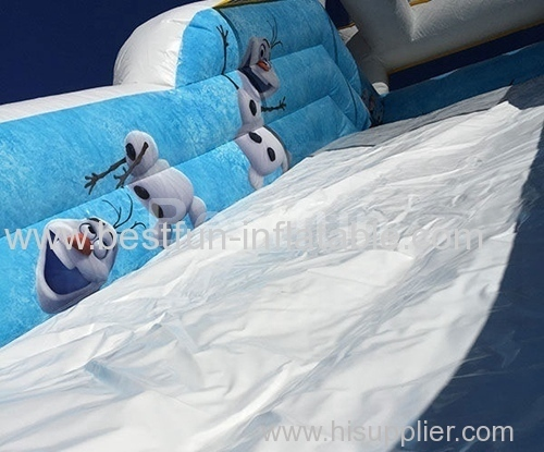 Frozen Inflatable slide for kids