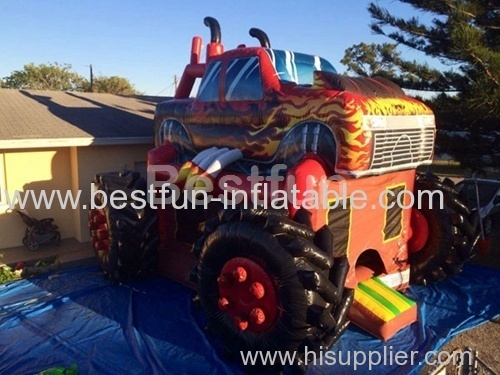 bounce house monster truck