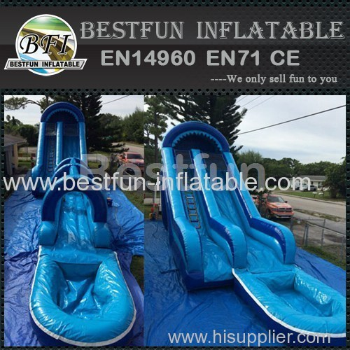 Inflatable Waterslide Blue Thunder