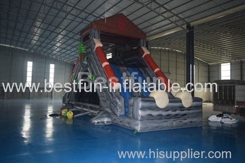 inflatable snowzilla tubing inflatable slide