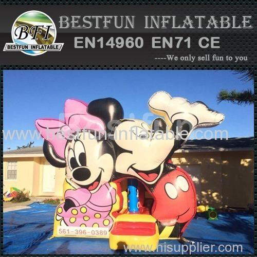 bounce house mickey inflatable