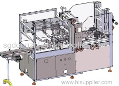 Automatic 3D-Film Packaging Machine for box soap or paper