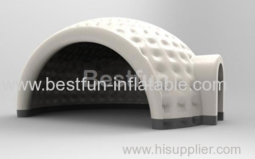 White exhibition inflatable party tent