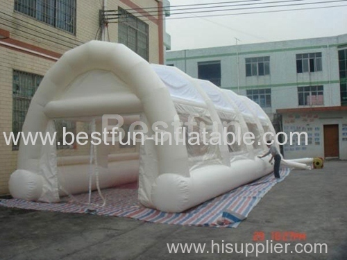 Commercial white inflatable tent