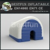 outdoor custom small inflatable house tent