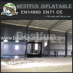 Giant air sealed clear inflatable tent for event