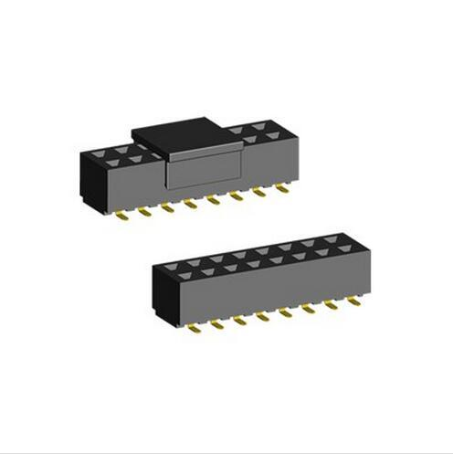 2.54mm SMT Type U-shape Terminal Female Header connector