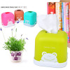 Tissue box Cotton cartoon Tissue Holder Cover plastic Removable Home Decoration Accessories