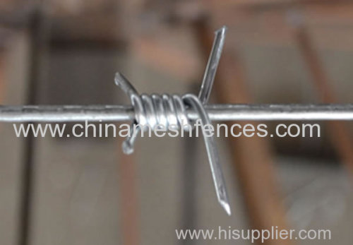 PVC COATED BARBED WIRE MADE IN CHINA
