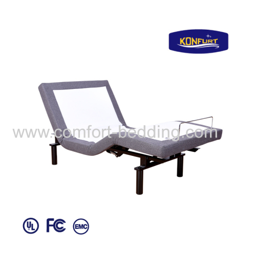 Double Motors Electric Bed Adjustable Bed Head & Foot up Down Bed