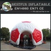 webbing inflatable football tent for promotion