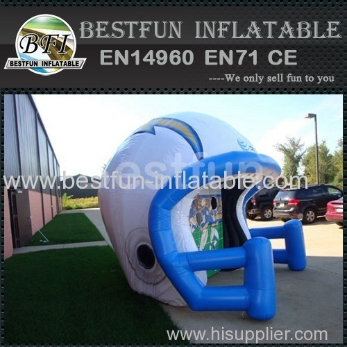 ATT inflatable Helmet Football Toss