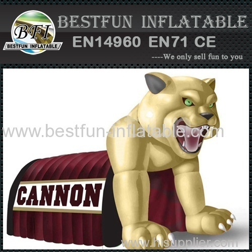 cannon cougar mascot inflatable