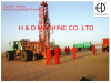 Sseismic shot hole truck mounted drilling rig