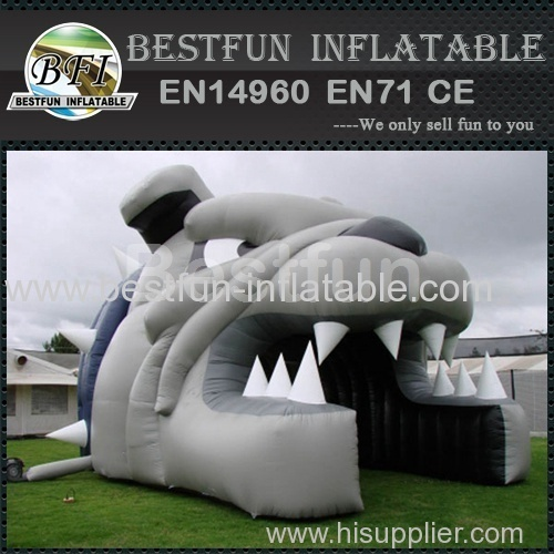 Advertise inflatable igloo tent