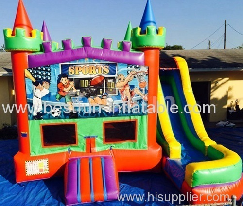 5 in 1 bounce house sports castle