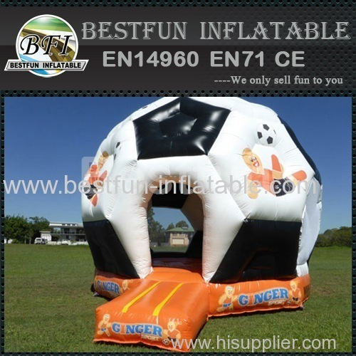Soccer bounce house combo