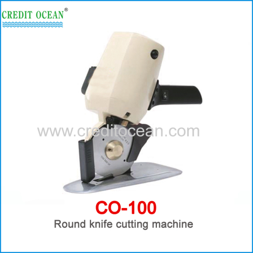 CREDIT OCEAN round knife cloth cutting machine for garment fabric