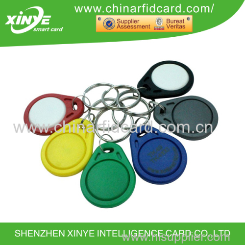 Low frequency access control system keyfob