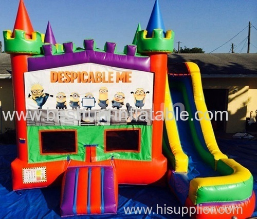 5 in 1 bounce house despicable me castle
