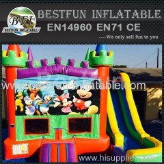 5 in 1 bounce house mickeys castle