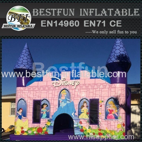 bounce house disney princess castle