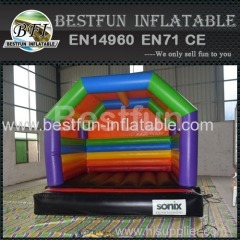 Standard inflatable bounce house