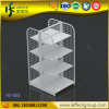 Wire supermarket gondola shelving unit display racks for supermarket