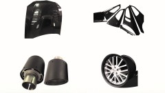 Carbon Fiber Automobile Parts